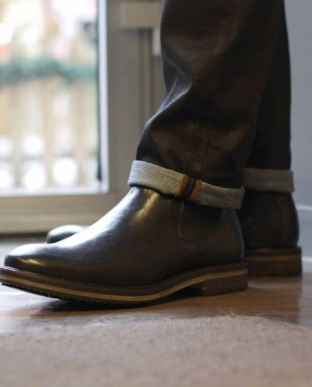 chaussure boots national standard édition 6 noir homme revoit orleans