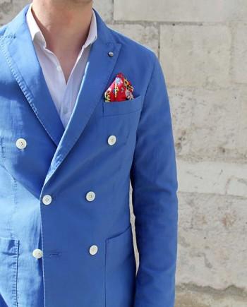 atpco veste svevo croisée bleu revoit orleans