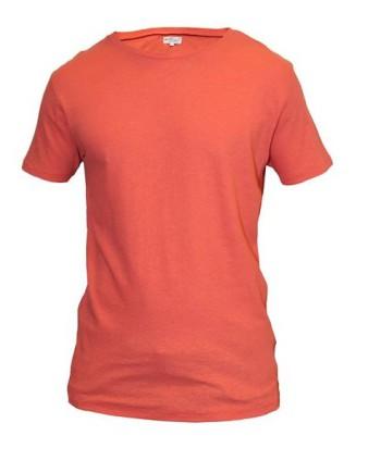 tee shirt manches courtes uni corail homme Revolt Orléans