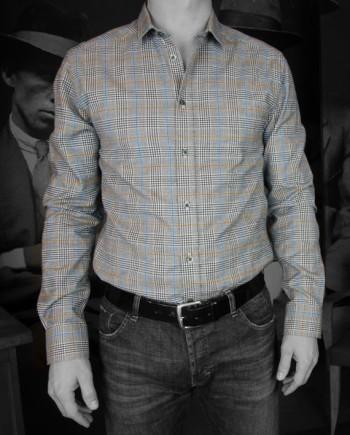 Paul & Joe chemise Rocker gris Revolt Orléans