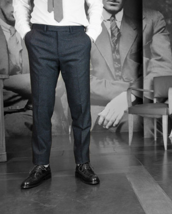 Gant rugger pantalon Donnegal Smarty pants blue revolt Orléans