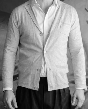 Paolo Pecora cardigan veste gris Revolt orléans
