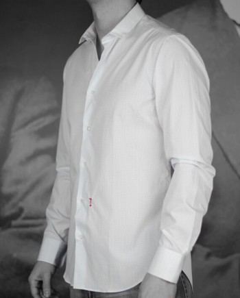 marchand drapier chemise garibaldi bleu revolt Orléans