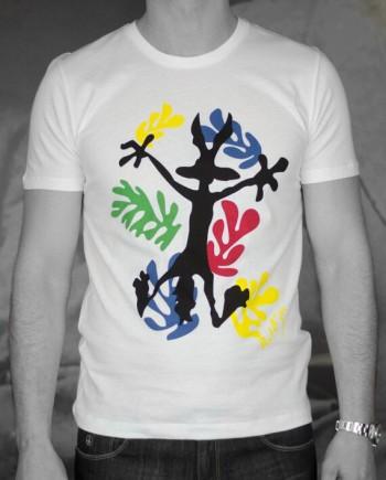 Paul & Joe t-shirt coyotte blanc Revolt Orléans