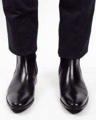 Paradigma chaussure boots cuir noir revolt orléans