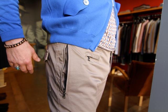 pantalon messagerie
