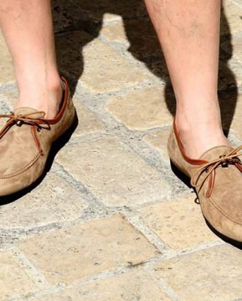 chaussure mocassin paul and joe homme marron revolt orleans