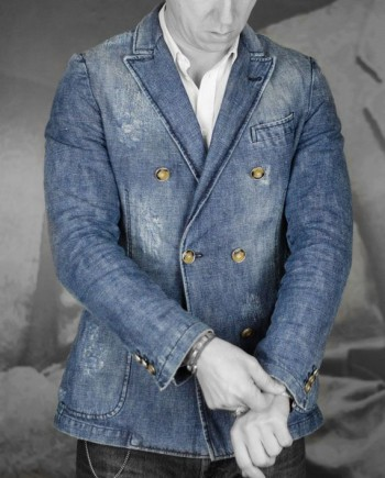 veste messagerie croisée coton jeans revolt orleans