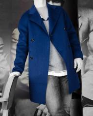 Manteau Plaid Bleu encre Paul & Joe Revolt – 7