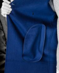 Manteau Plaid Bleu encre Paul & Joe Revolt – 5