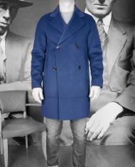 Manteau Plaid Bleu encre Paul & Joe Revolt – 4