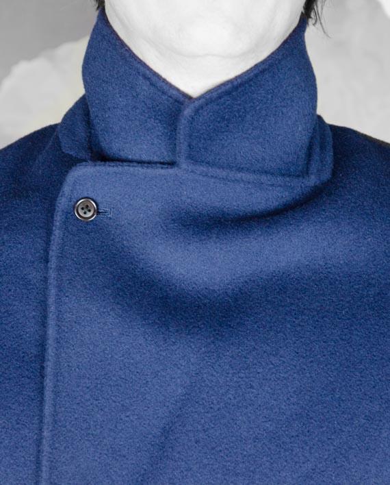 Manteau Plaid Bleu encre Paul & Joe Revolt