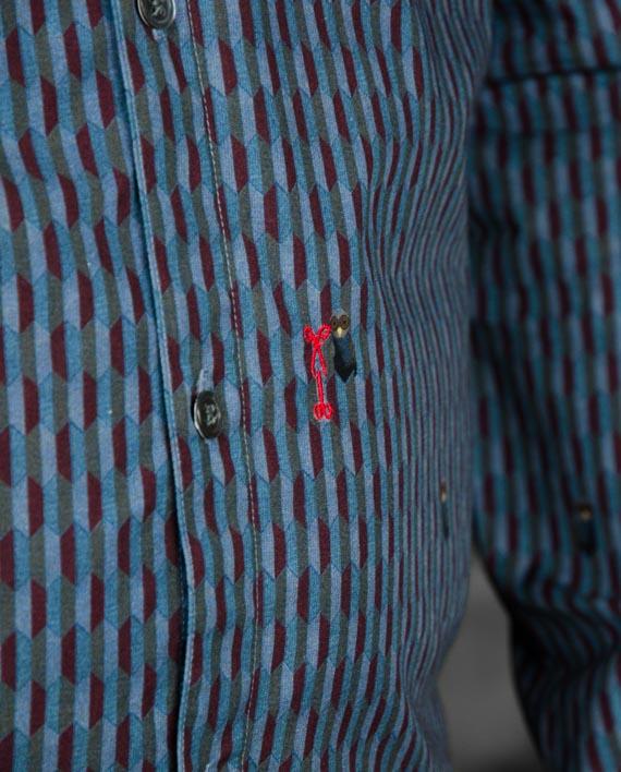 marchand drapier chemise flore hiboux revolt Orléans