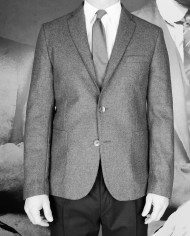 Veste matelassée grise Rick Taylor Revolt Orléans – 1