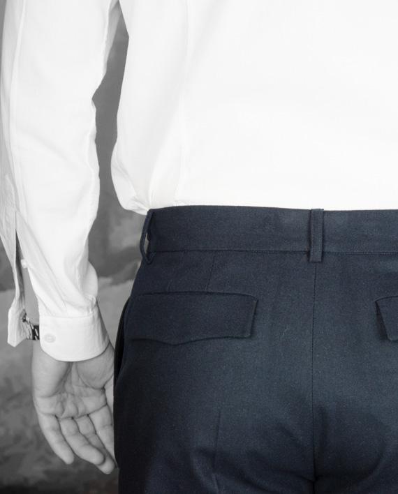 Pantalon someone Navy Paul & Joe Revolt Orléans