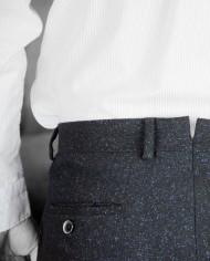 Gant rugger pantalon Donnegal Smarty pants blue revolt Orléans 1