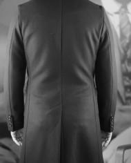 Manteau Rick Taylor noir dos