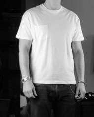 Paolo Pecora TS blanc vichy face
