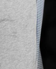 Paolo Pecora ts gris détail broderie