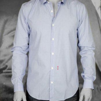 marchand drapier chemise flower bleu revolt Orléans
