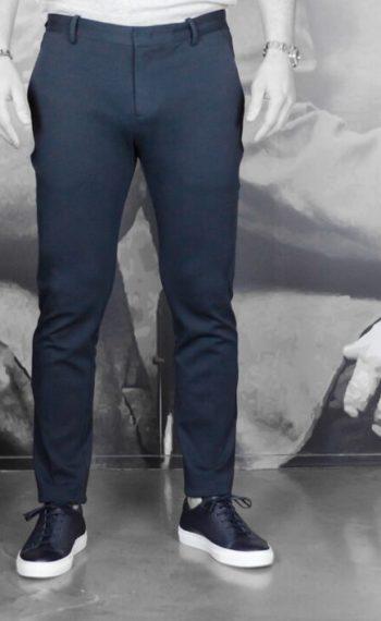 paolo pecora pantalon coton navy Revolt Orléans