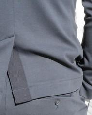 Paolo Pecora veste coton navy détail dos