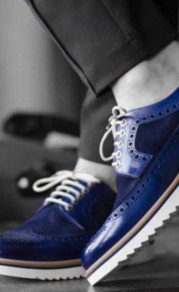 Paradigma chaussure brogues marine revolt orléans