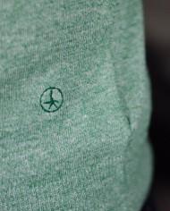 At.p.co pull vert détail logo