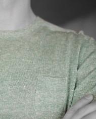 At.p.co pull vert détail poche