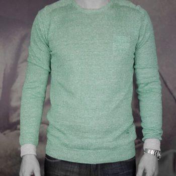 Atpco pull lin coton vert Revolt Orléans