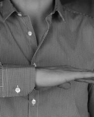 Marchand Drapier chem basile crx black détail manches