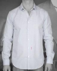 Marchand Drapier chemise buci bleu face