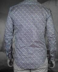 Marchand Drapier chemise flore print rose dos
