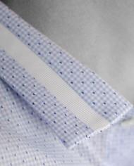 Marchand Drapier chemise grenelle bleu détail col