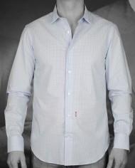 Marchand Drapier chemise grenelle bleu face