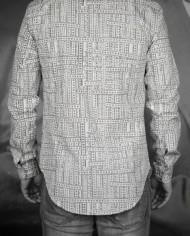 Marchand Drapier chemise print ruban dos