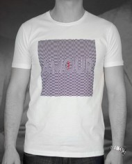 Marchand Drapier t-shirt Amour blanc face