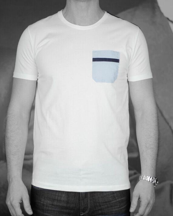 Marchand Drapier t-shirt raspail blanc Revolt Orléans