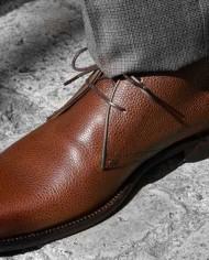 paradigma-bottines-cuir-graine-marron-detail