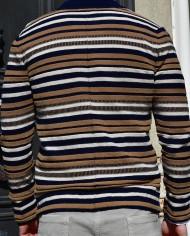 Paolo Pecora cardi:veste rayée dos