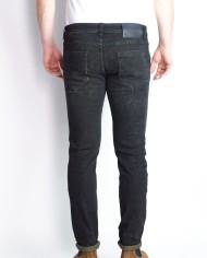 Messagerie jeans noir délavé dos