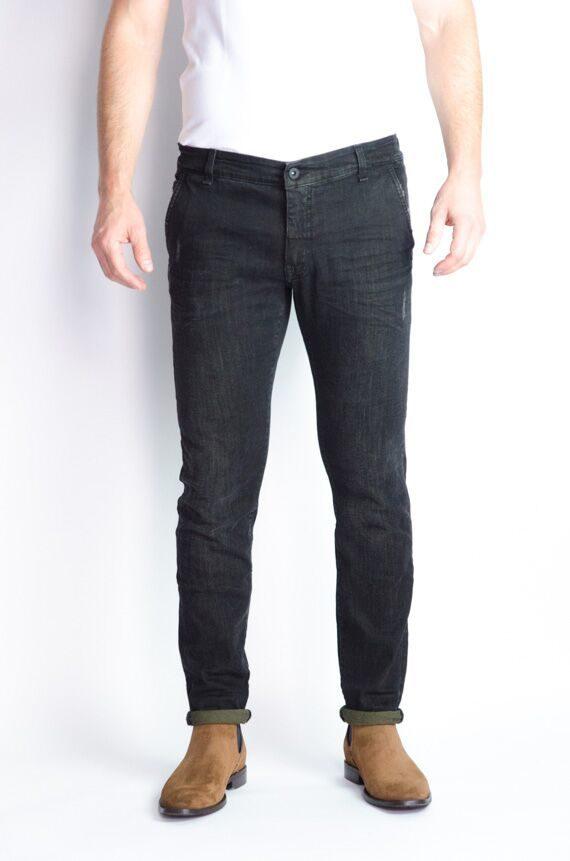 Messagerie Jeans délavé noir Revolt Orléans