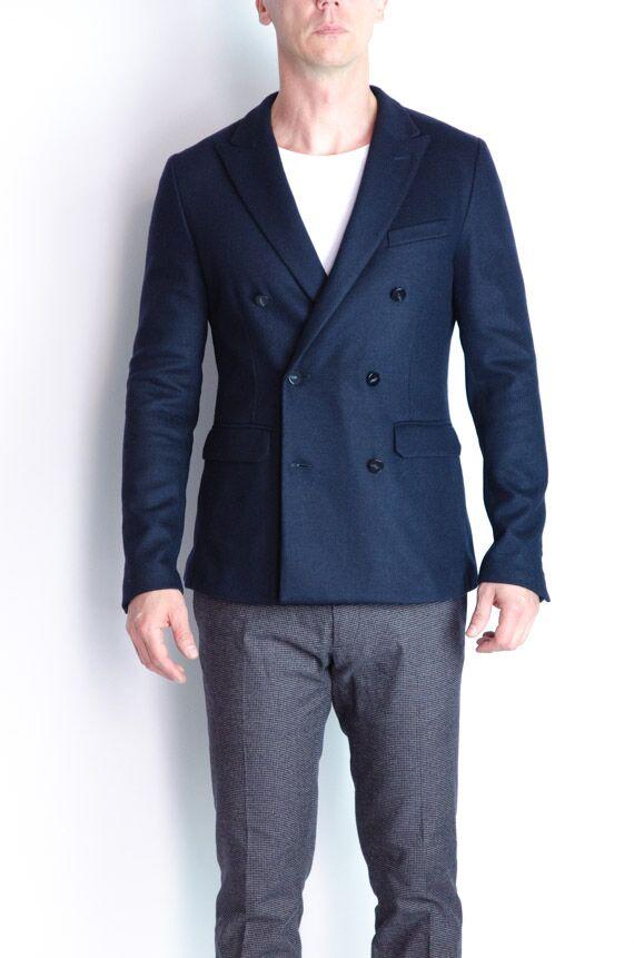 paolo pecora veste jersey croisée marine Revolt Orléans