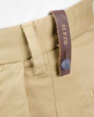 Atpco pantalon chino beige détail 1
