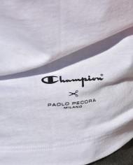 Paolo Pecora x Champion TS blanc dos