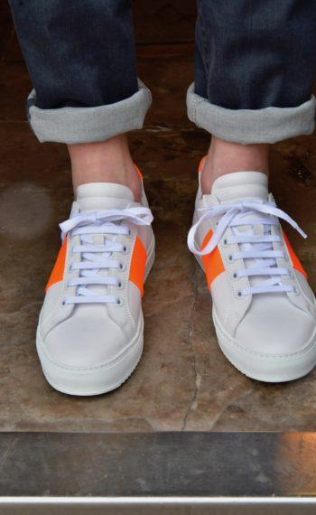 National Standard baskets édition 4 orange fluo revolt Orleans