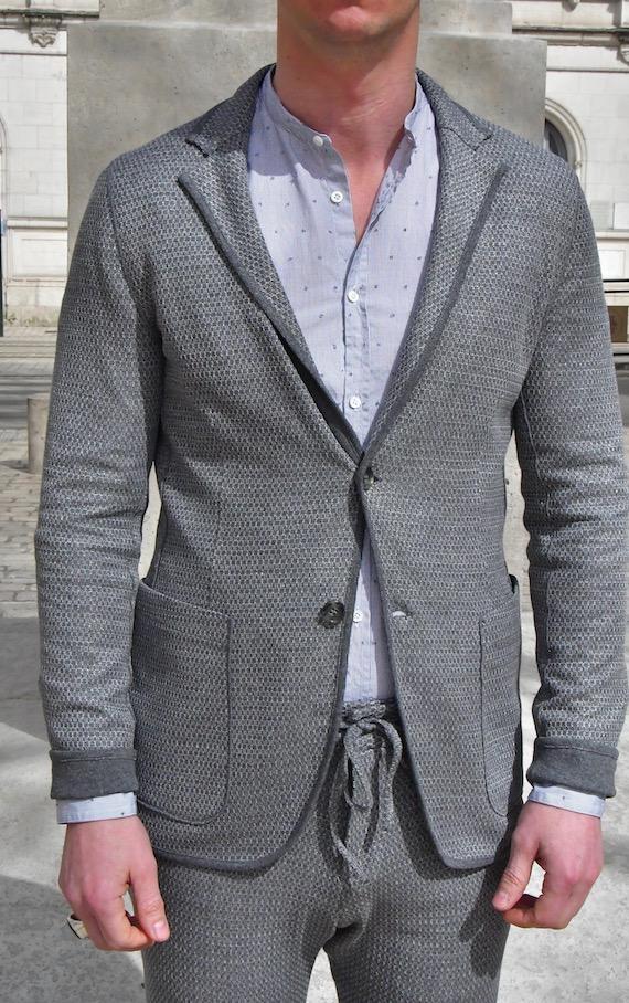 paolo pecora veste réversible grise Revolt Orléans
