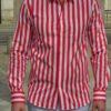 Paul & Joe chemise tuyanne rouge homme Revolt Orléans