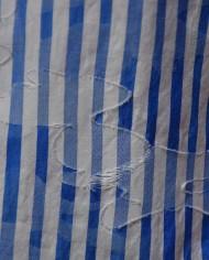 Aglini chemisette rayée détail