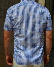 Aglini chemisette rayée dos